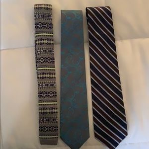 Combo three ties